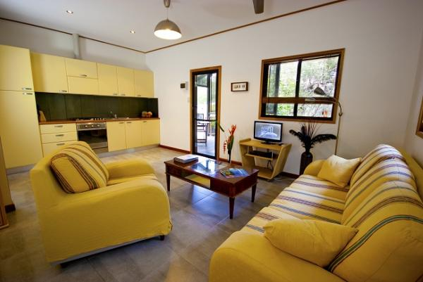Guest House #2 Living / Kitchen